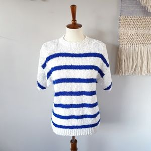 Vintage 80's Favorites Chunky Knit Sweater Top